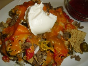These nachos are a great family night dinner that's quick and easy!