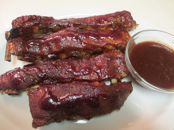 Spare Ribs with Homemade Barbecue sauce