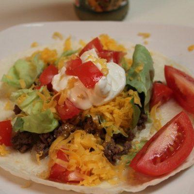 15 minute soft tacos