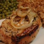 Lemon Garlic Pork Chops