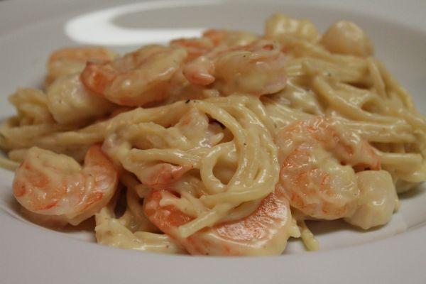 Spicy Shrimp Vesuvio -...