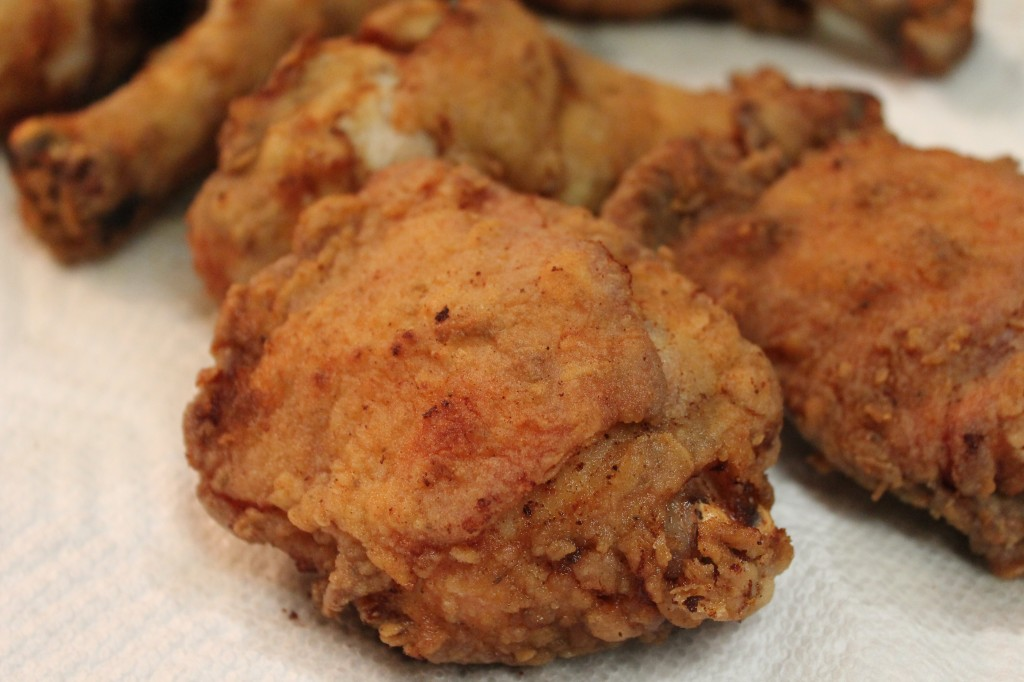 This southern fried chicken recipe makes moist chicken with a lick of heat.