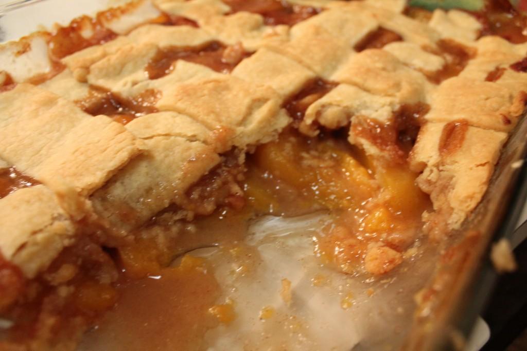 Grandma's Southern Peach Cobbler