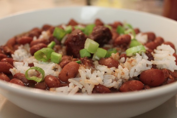 This recipe for southern red beans and rice is, hands-down, the best around!