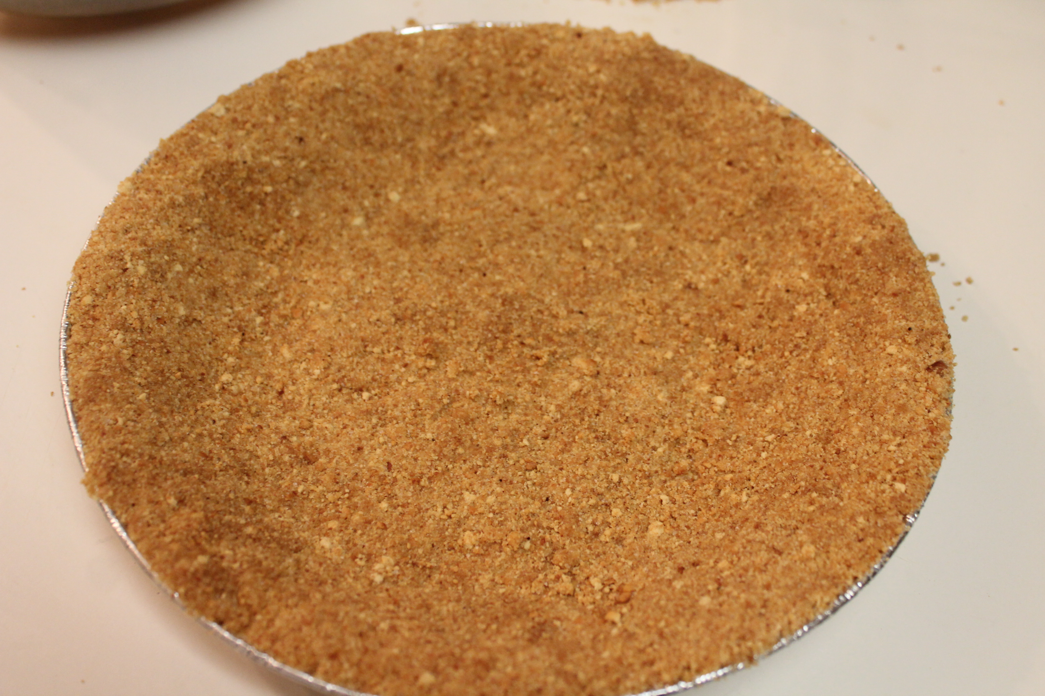 You can get the recipe for a graham cracker crust here!