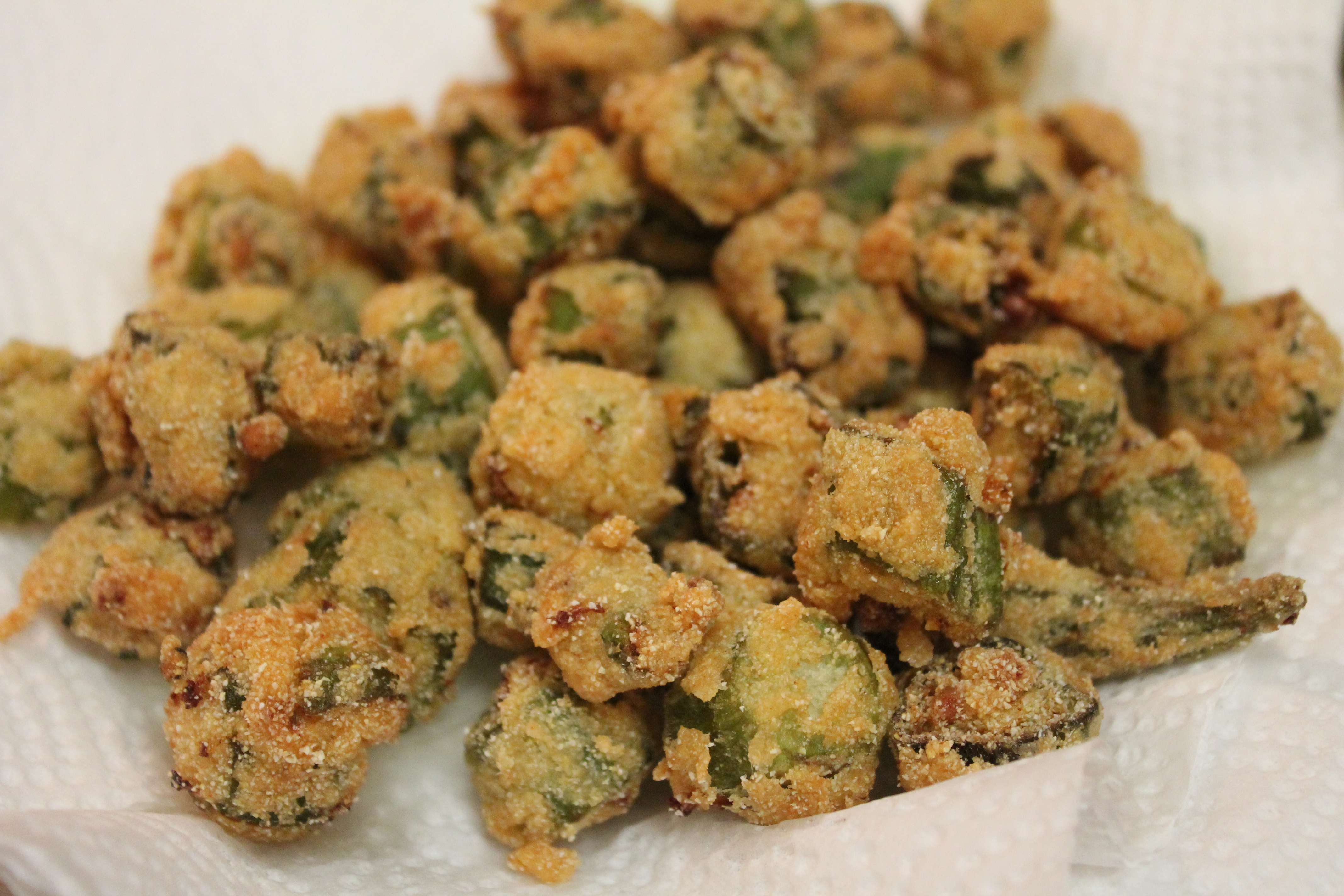 Southern Fried Okra RecipeOkra Recipes