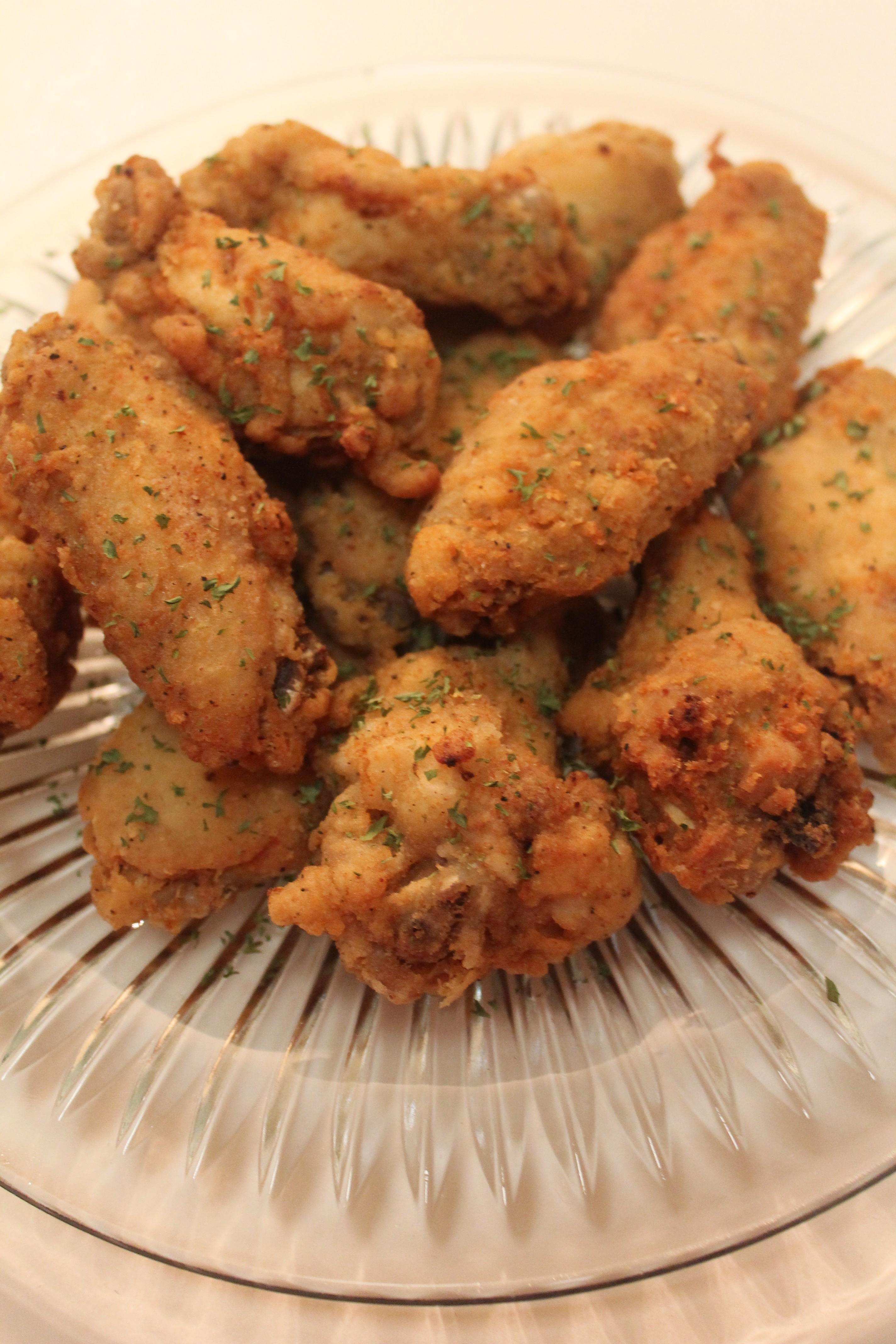 Lemon Pepper Chicken Wings I Heart Recipes
