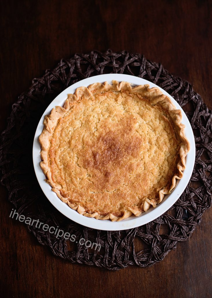 This traditional buttermilk pie recipe will take you right back to holidays at home with the family.