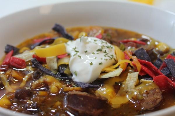 Sausage Tortilla Soup Recipe