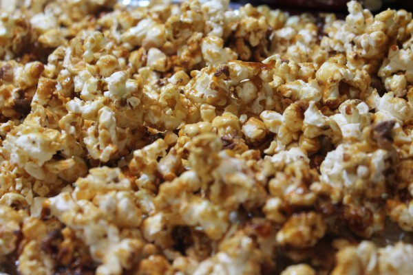 Satisfy your cravings with this sweet and salty Homemade Caramel Corn!