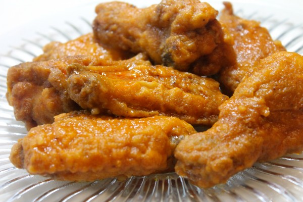 This restaurant quality hot wings are homemade and delicious! You'll never need takeout wings again.