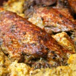 The BEST Baked Turkey Wings