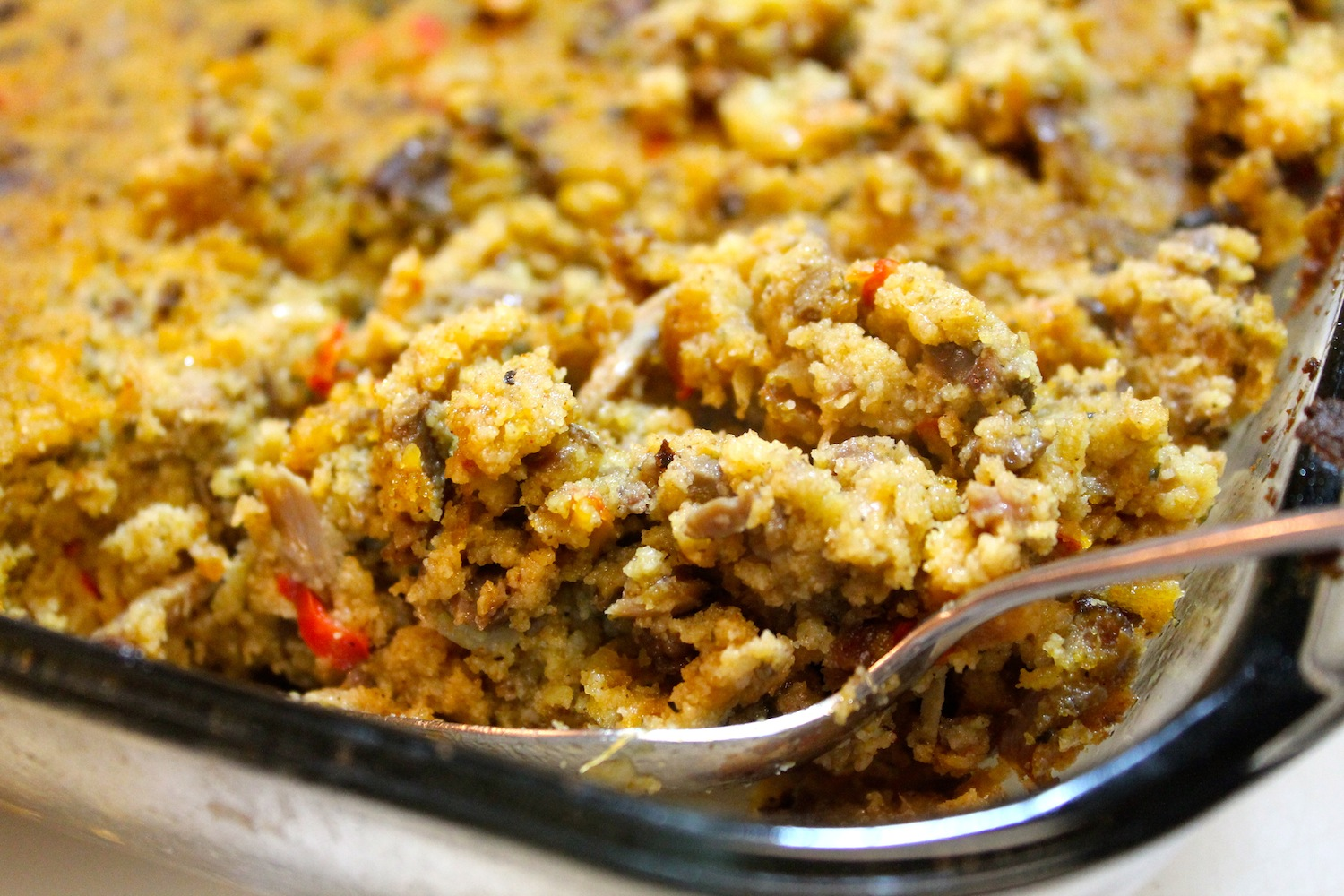 thanksgiving stuffing casserole