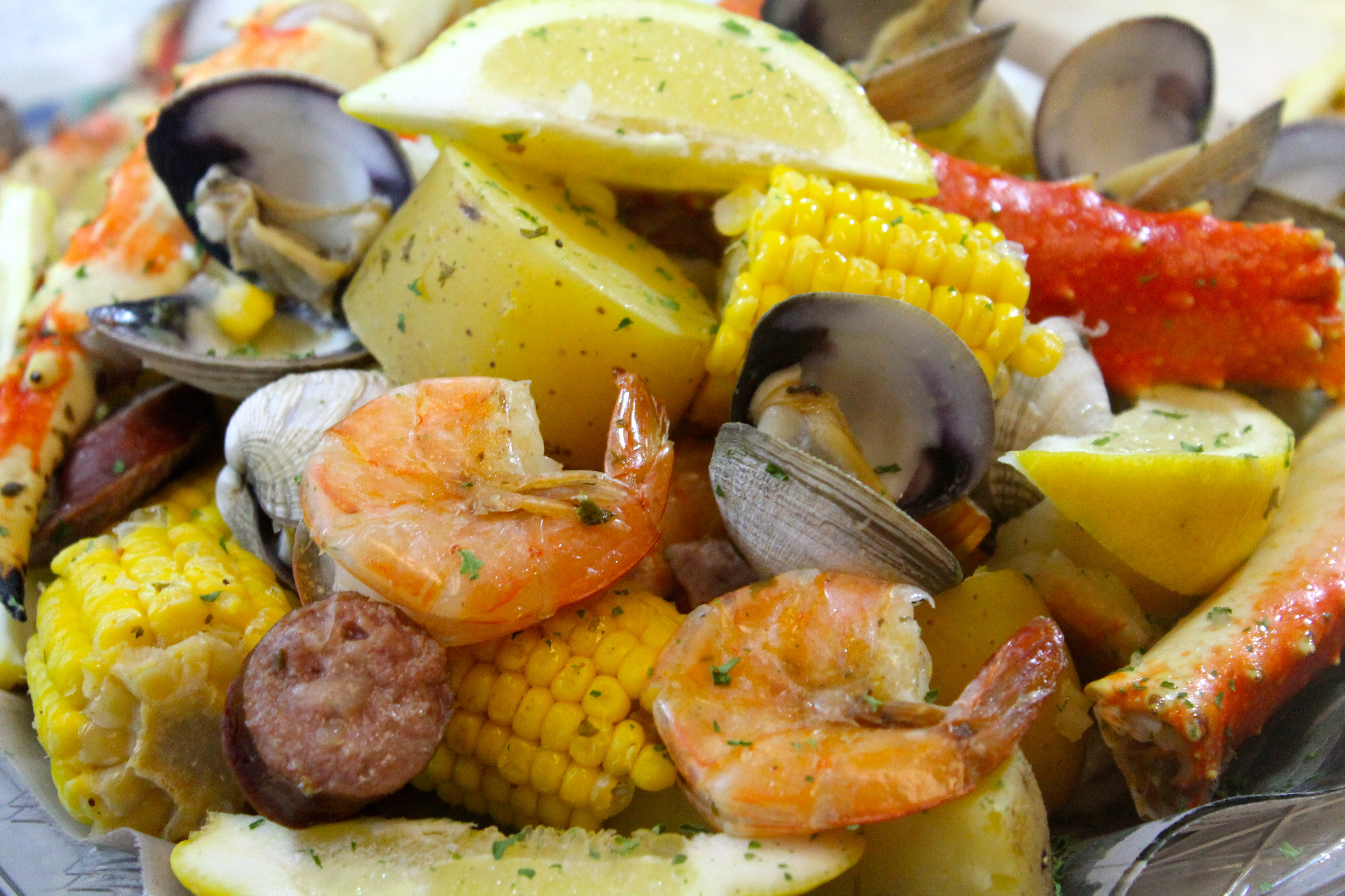 Seafood Boil With King Crab And Sausage I Heart Recipes