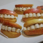 Dentures On A Plate! HAPPY HALLOWEEN!