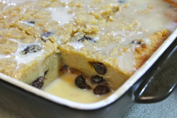 This classic bread pudding recipe is just too easy