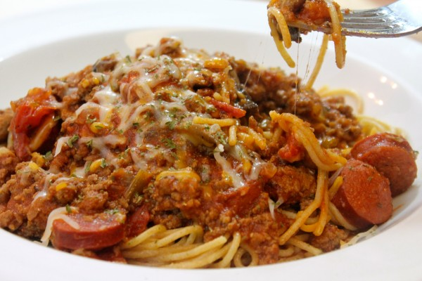 This homemade meat sauce recipe is perfect for a variety of your favorite pasta dishes