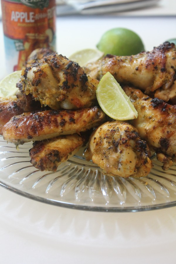 Baked Cilantro Lime Chicken Wings are crowd-pleasing!