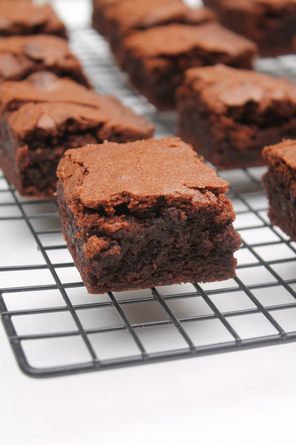 This made from scratch brownie recipe is an easy, delicious go-to recipe