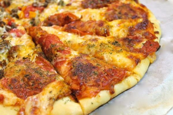 Try making your own homemade pizza for the next family night!