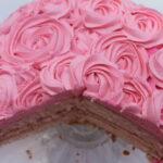 Vanilla Rose Cake Recipe