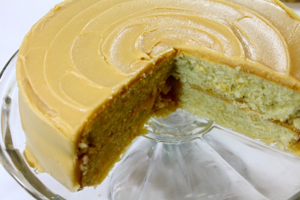 Homemade Southern Caramel Cake