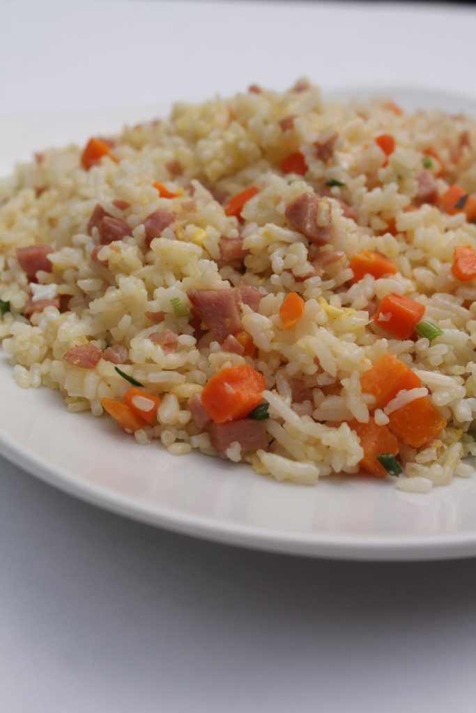 This simple fried rice is made with leftovers so it can be customized and made with whatever you have on hand.