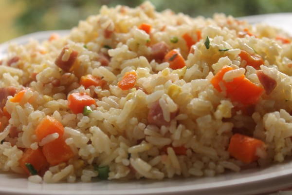 This easy fried rice is packed with veggies and makes great leftovers!