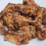 Baked Garlic & Onion Chicken Wings