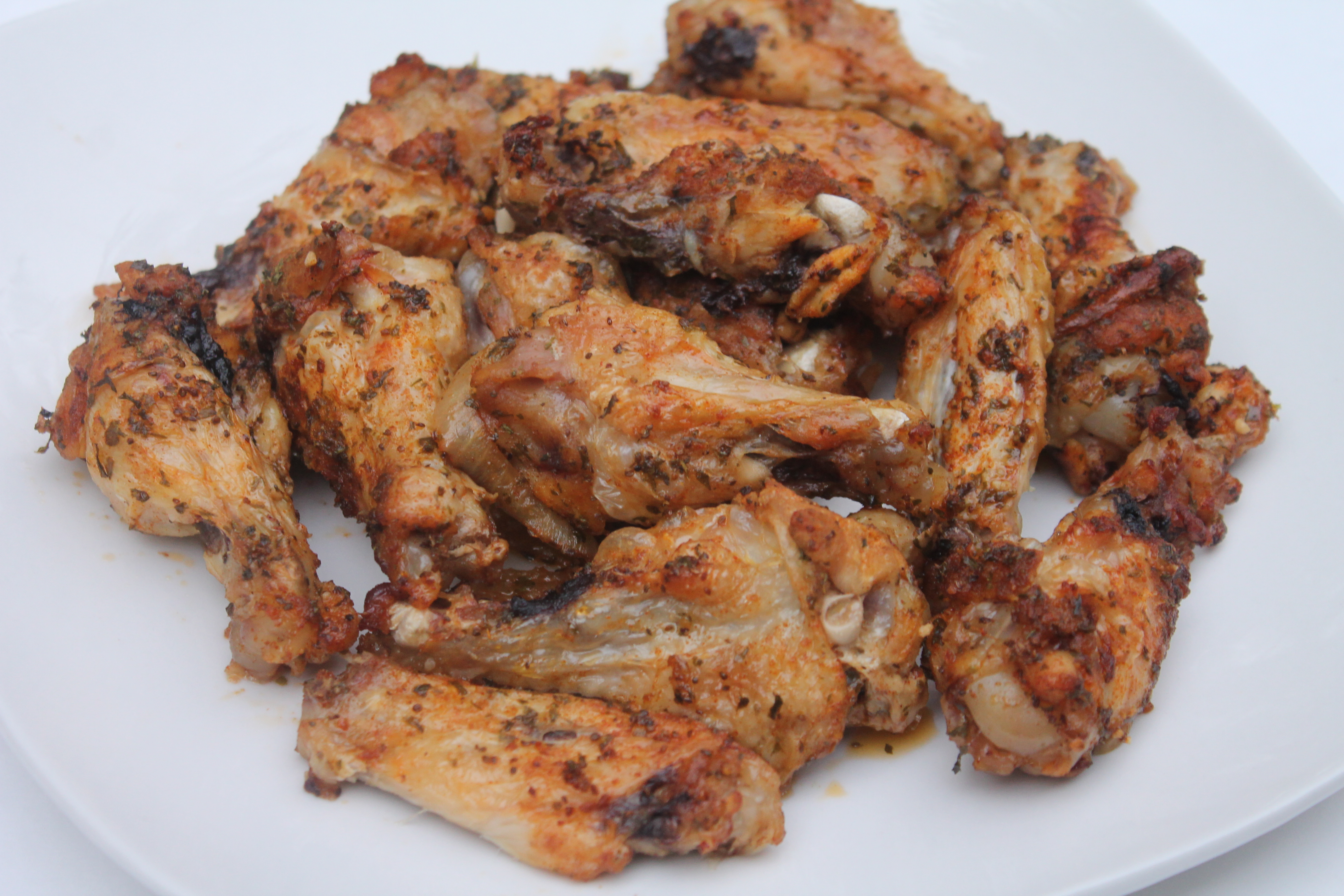 Baked garlic onion chicken wings i heart recipes baked garlic onion chicken wings forumfinder Choice Image