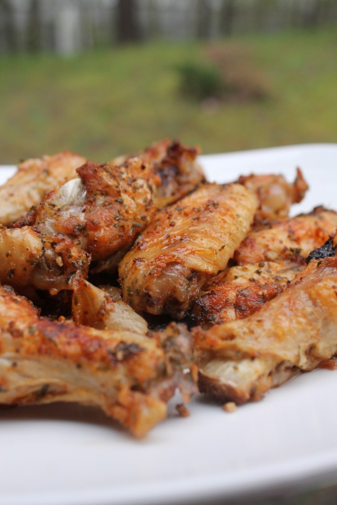 Garlic & Onion Chicken wings