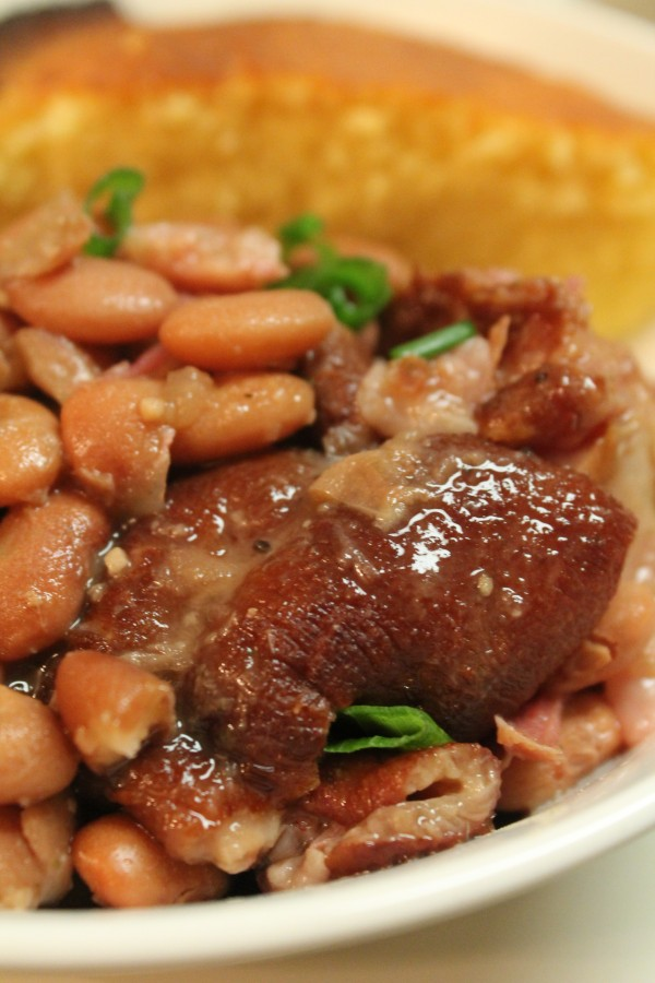 Southern Ham And Brown Beans Recipe — Dishmaps