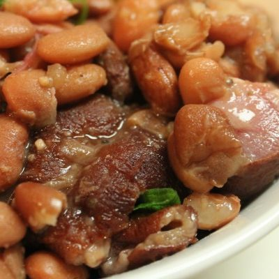 Crock Pot Southern Pinto Beans & Ham Hocks