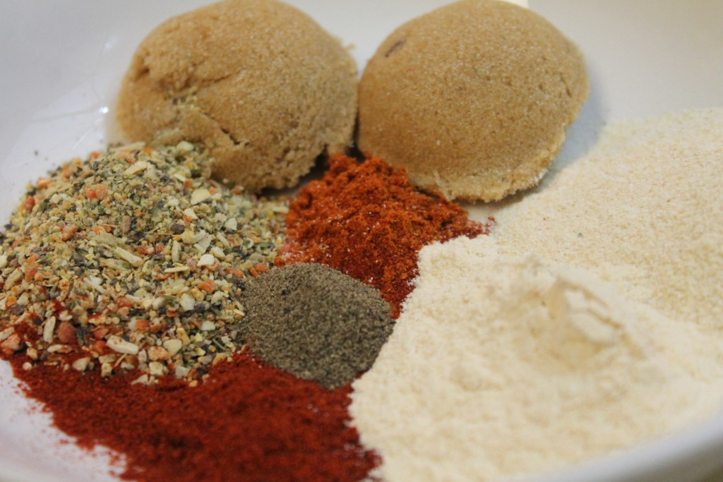 Everything for my barbecue rub blend