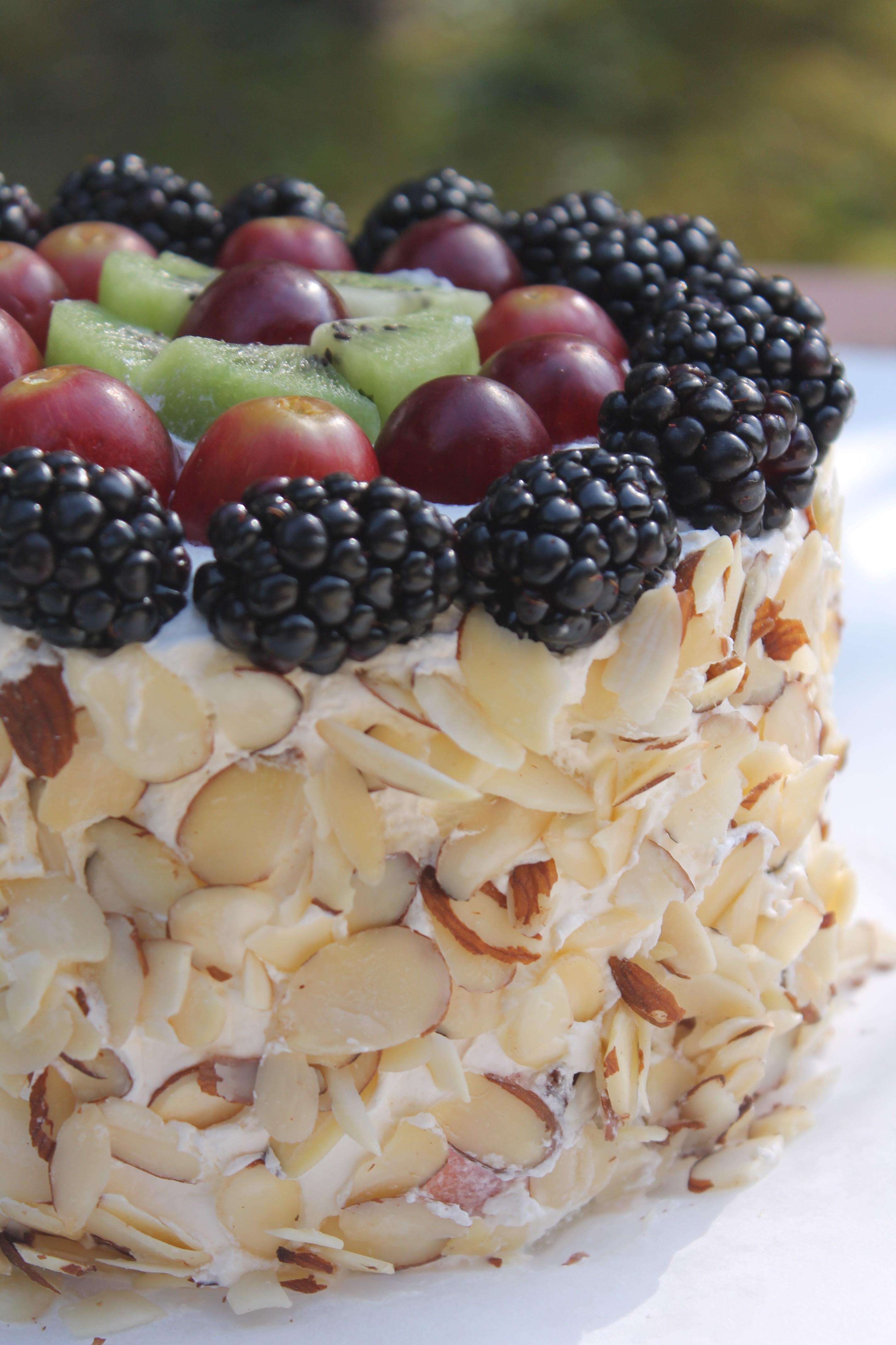 Fruit Sweetened Cake