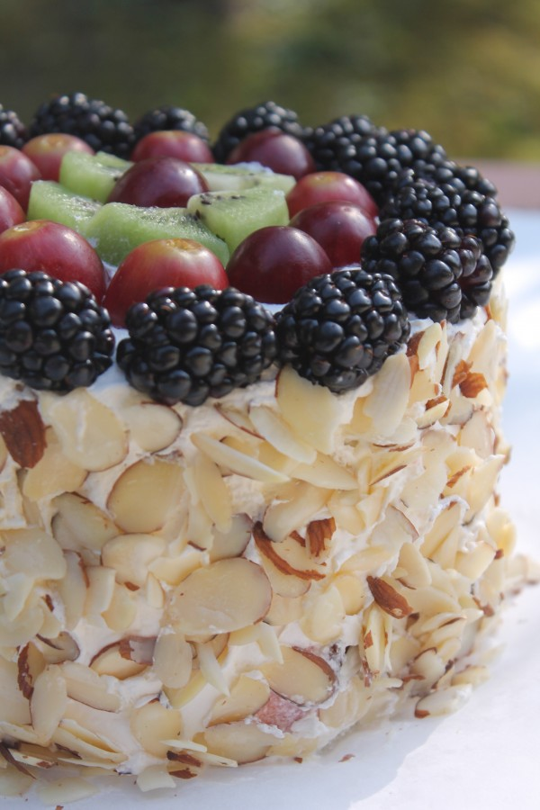 Fresh Watermelon Cake is the perfect dessert for a family cookout!