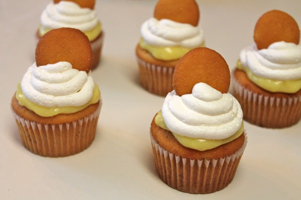 Banana Pudding Cupcakes are the delicious hand-held version of a classic dessert!