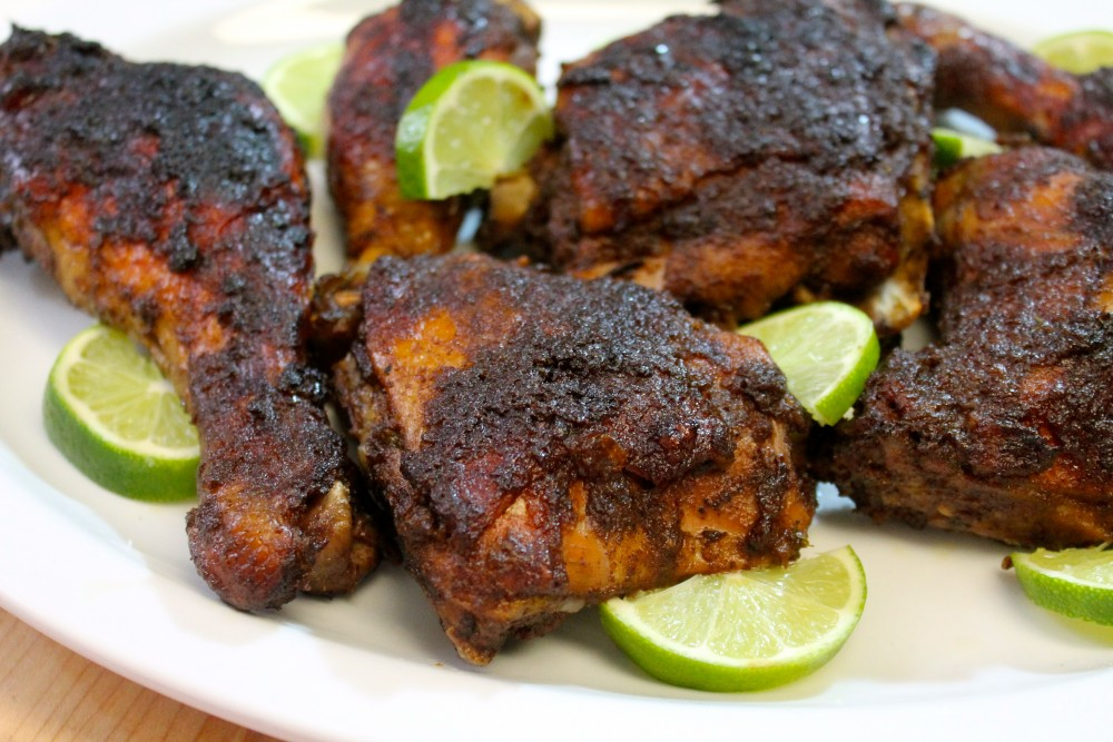 How to make homemade Jamaican Jerk Chicken Completely from scratch!