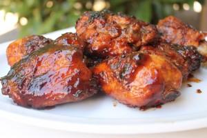 Hickory Smoked Barbecue Chicken Recipe