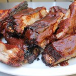 Barbecue St. Louis Ribs with Hickory Brown Sugar BBQ Sauce