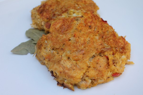 These super easy crab cakes can be made on the stove top or the grill