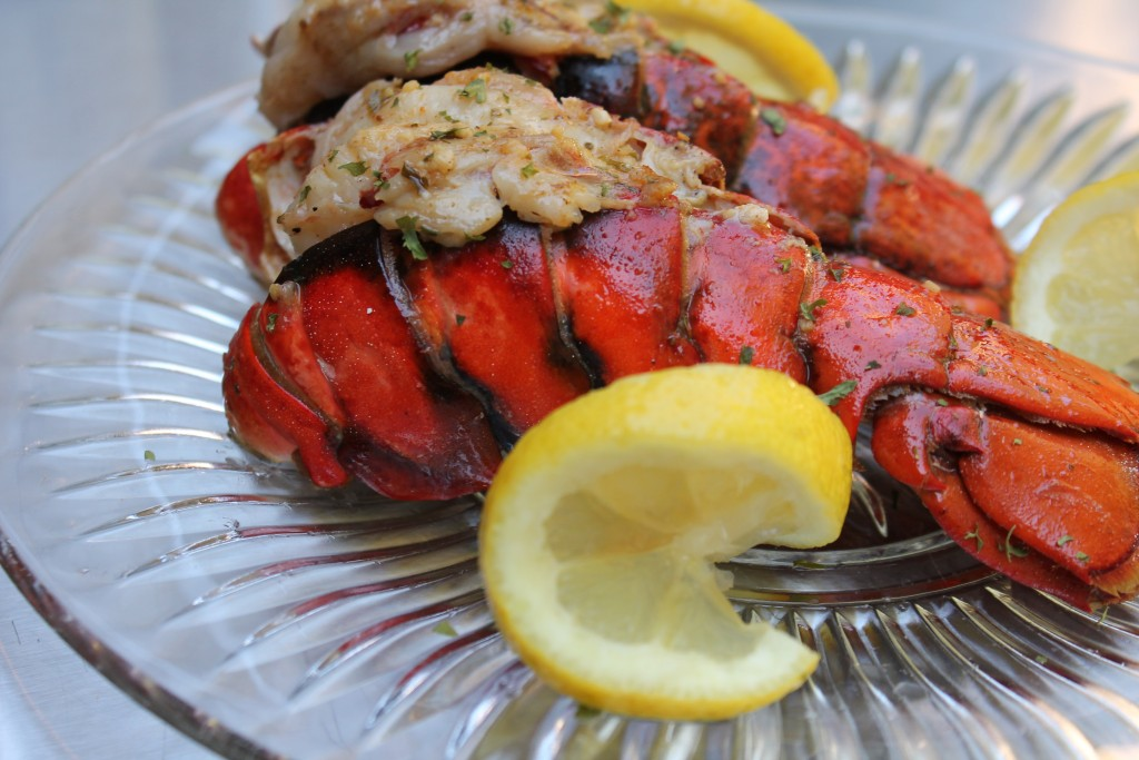 Grilled Lobster Tail is a delicious date night meal!
