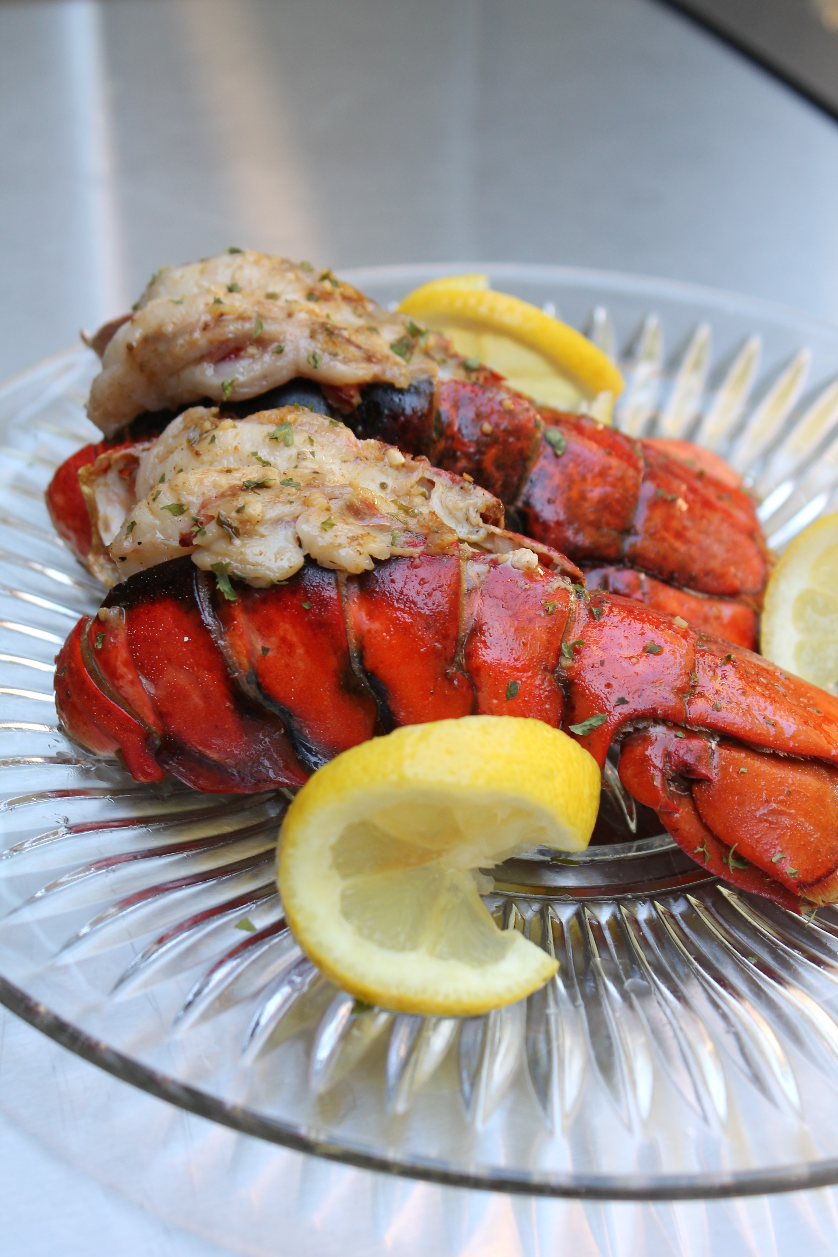 Grilled Lobster Tail Recipe | I Heart Recipes