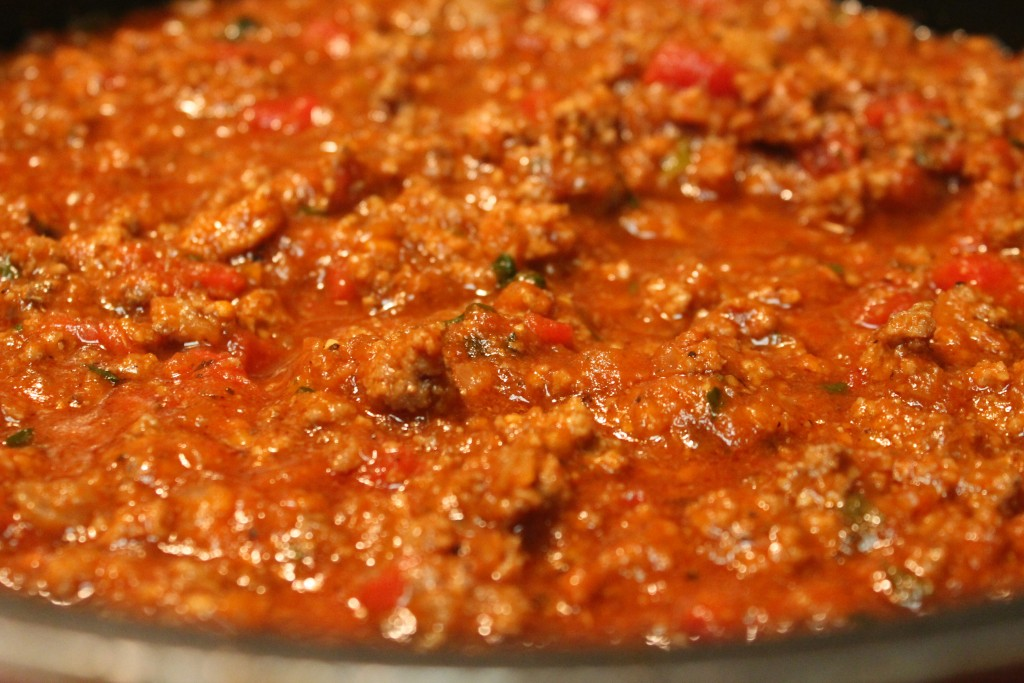 The chili that I make for my chili cheese Frito Pie is really simple ...