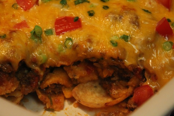 Your family will love this Best Chili Cheese Frito Pie!