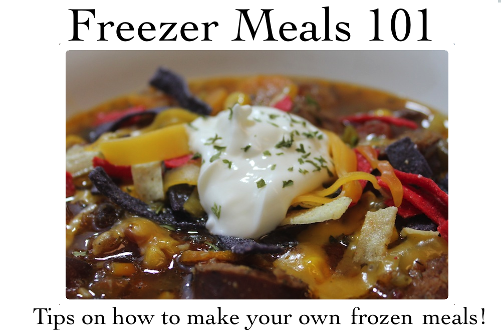 Freezer meals 101: this tortilla soup is a perfect make-ahead freezer dinner to have on hand when you have a busy weeknight