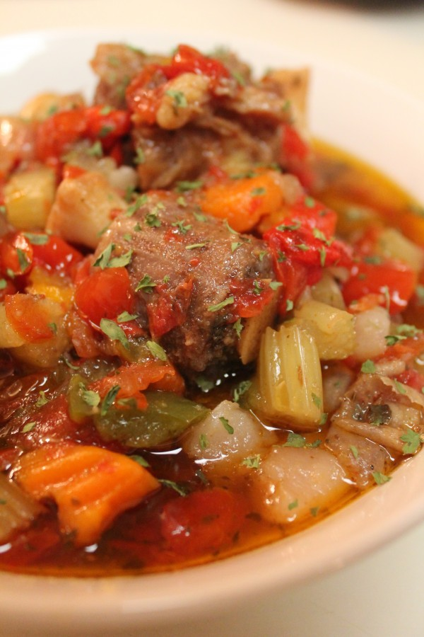 Slow Cooked Oxtail Stew 2