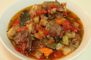Slow Cooked Oxtail Stew Recipe