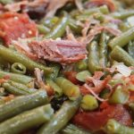 Southern Green Beans with Smoked Turkey