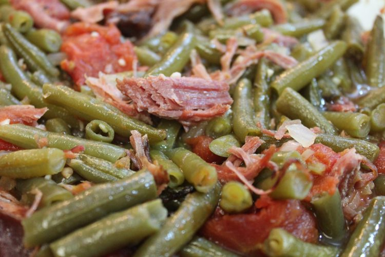Green beans i heart recipes for Side dishes to go with smoked chicken